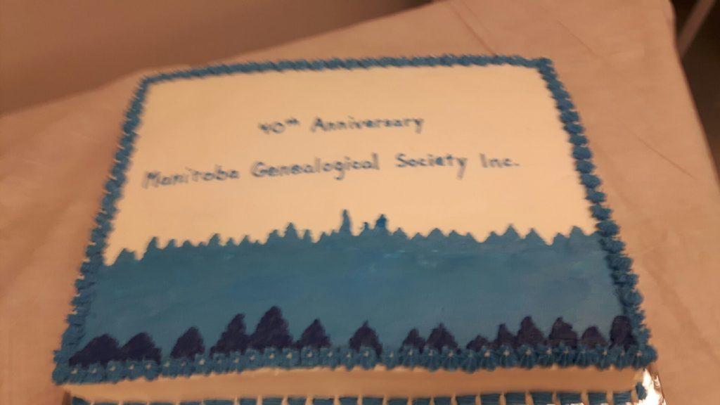 40th Anniv. cake